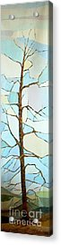 The Tree Sky Song Acrylic Print by Judith Espinoza