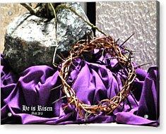 The Triumphant Crown Acrylic Print