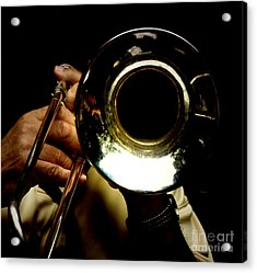 The Trombone   Acrylic Print by Steven Digman