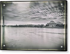 Acrylic Print featuring the photograph The Trump State by Edward Kreis