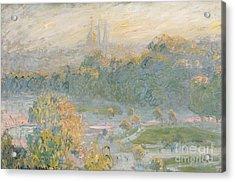 The Tuileries Acrylic Print