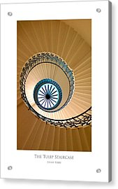 The Tulip Staircase Acrylic Print