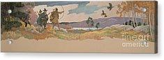 The Turkey Hunters Acrylic Print
