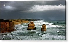 The Twelve Apostles Acrylic Print by Marion Cullen