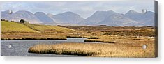 The Twelve Bens Mountains Connemara Ireland Acrylic Print