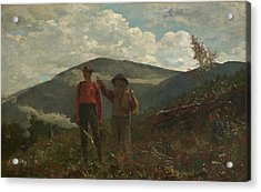 The Two Guides Winslow Homer Acrylic Print