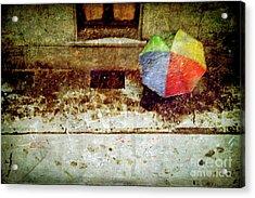 The Umbrella Acrylic Print by Silvia Ganora