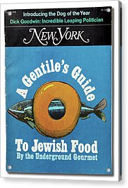 The Underground Gourmet Guide To Jewish Food Acrylic Print