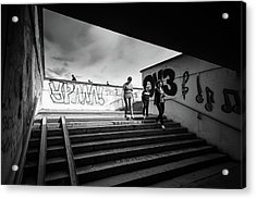 The Underpass Acrylic Print by John Williams