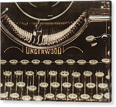 The Underwood Acrylic Print by Lisa Russo