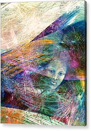 The Undine Acrylic Print by Sue Reed