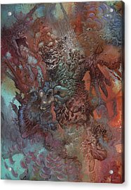 The Unfathoming Acrylic Print by Ethan Harris