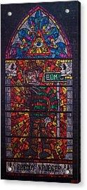 The Unholy Trinity Freddy Krueger Acrylic Print