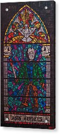 The Unholy Trinity Jason Voorhees Acrylic Print