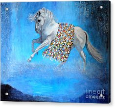 The Unicorn Acrylic Print