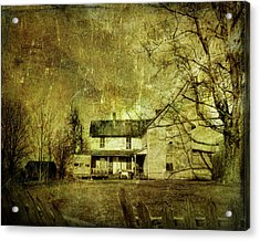 The Uninvited Acrylic Print by Mark Allen