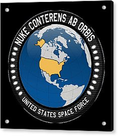The United States Space Force Acrylic Print