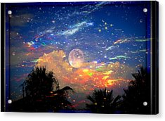 The Universal Moon Acrylic Print