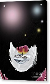 The Universe Acrylic Print by Sharon Broucek