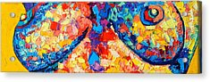 Acrylic Print featuring the painting The Unknown by Ana Maria Edulescu