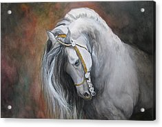 The Unreigned King Acrylic Print by Nonie Wideman