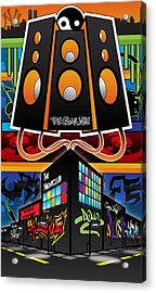 The Urban Life Revamp Acrylic Print by Devin Green