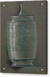 The Urn Acrylic Print by Ron Sylvia