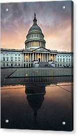 Acrylic Print featuring the photograph The Us Capital by Ryan Wyckoff