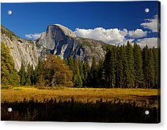 The Valley Acrylic Print by Evgeny Vasenev