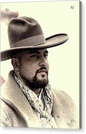 Acrylic Print featuring the photograph The Vaquero by Jeanne May