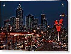 The Varsity Atlanta Acrylic Print