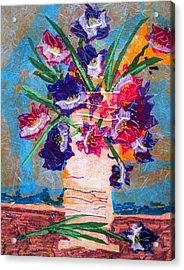 The Vase Acrylic Print by David Raderstorf