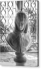 Acrylic Print featuring the photograph The Veiled Lady by Stewart Scott