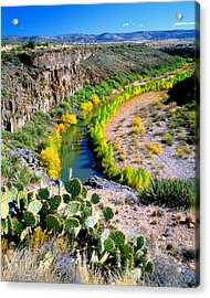 The Verde River Acrylic Print