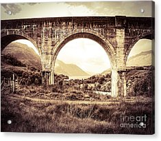 The Viaduct And The Loch Acrylic Print