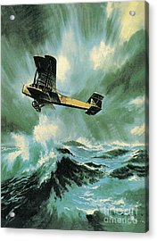 The Vickers Vimy Acrylic Print by Wilf Hardy