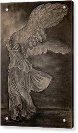The Victory Of Samothrace Acrylic Print by Julianna Ziegler
