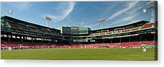 The View From Center Acrylic Print by Paul Mangold