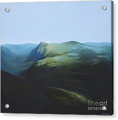 The View From Mount Tron Acrylic Print by Lin Petershagen