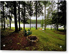 Acrylic Print featuring the photograph The View From Northern Comfort by David Patterson