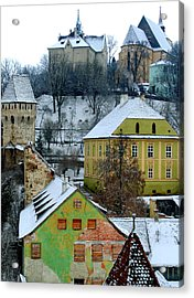 The View From The Clocktower Acrylic Print by Todd Fox