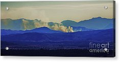 The View From The Top Acrylic Print by Blair Stuart