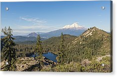The View From The Top Acrylic Print