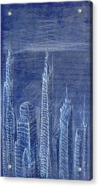 The View From Up Here Acrylic Print by J Michael Kilpatrick