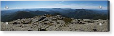 The View North From Mt. Marcy Acrylic Print by Joshua House
