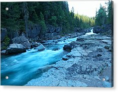 The View Of A River Acrylic Print
