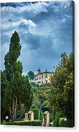 The Views From The Boboli Gardens Acrylic Print