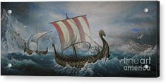The Vikings Acrylic Print