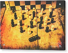 The Vintage End Game Acrylic Print