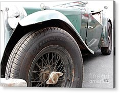 The Vintage Mg  Acrylic Print by Steven Digman